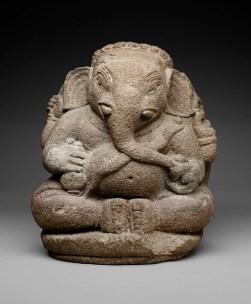 Ganesha, Java, Majapahit Empire, Indonesia, Asia, 14th century, stone, Dallas Museum of Art, Dallas Art Association Purchase