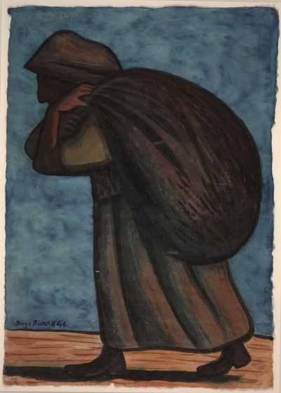Diego Rivera, Peasant Woman, 1946, Dallas Museum of Art, Bequest of Mr. and Mrs. Benjamin Lewis