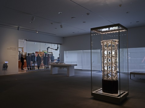 The Wittgenstein Vitrine on view in Modern Opulence in Vienna: The Wittgenstein Vitrine