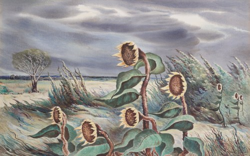 Charles T. Bowling, Meadow Wind, 1942, Dallas Museum of Art, Ted Dealey Purchase Prize, Fourteenth Annual Dallas Allied Arts Exhibition, 1943.