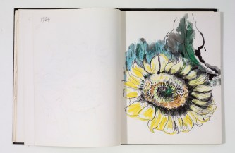 Otis Dozier, Sketchbook, 1964-1965, Dallas Museum of Art, gift of The Dozier Foundation.