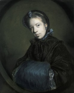 Sir Joshua Reynolds, Portrait of Miss Mary Pelham, c. 1757, oil on canvas, Dallas Museum of Art, gift of Michael L. Rosenberg