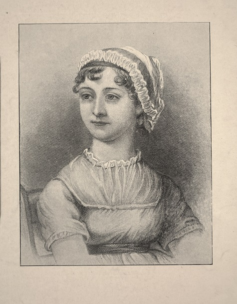 After Cassandra Austen, Jane Austen, n.d., engraving, Dallas Museum of Art, Foundation for the Arts, The Alfred and Juanita Bromberg Collection, bequest of Juanita K. Bromberg