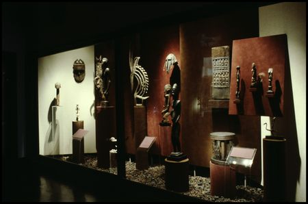 African gallery at the Dallas Museum of Fine Arts, Fair Park, in 1979.