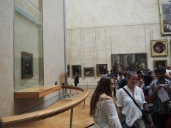 "New view of Leonardo Da Vinci's ""Mona Lisa."" One where no one is actually looking at it."