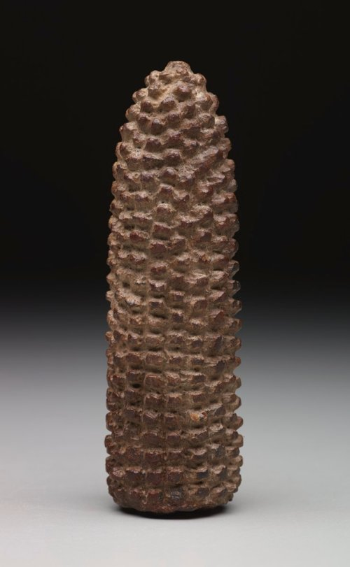 Corn Cob Effigy, Pre-Columbian, 900-1500 A.D.?, ceramic, Dallas Museum of Art, gift of Mrs. Nancy G. Sayles, 1987.377