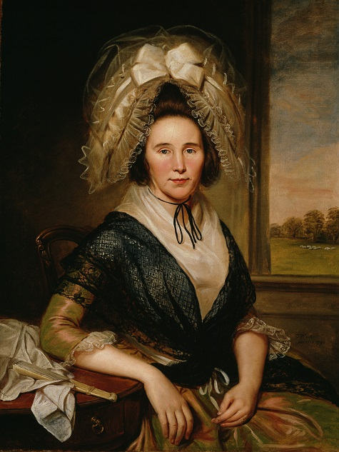 Charles Willson Peale, Rachel Leeds Kerr, 1790, oil on canvas, Dallas Museum of Art, gift of the Pauline Allen Gill Foundation 1989.23