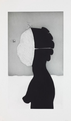 Kara Walker, savant, 2010, etching with aquatint, sugar-lift, spit-bite, and drypoint Dallas Museum of Art, Mary Margaret Munson Wilcox Fund 2010.39.3 © Kara Walker