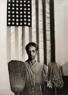 "Gordon Parks, ""American Gothic, Washington, D.C.,"" 1942, printed later, gelatin silver print, Dallas Museum of Art, anonymous gift and Lay Family Acquisition Fund, 2007.62.3, © Estate of Gordon Parks"