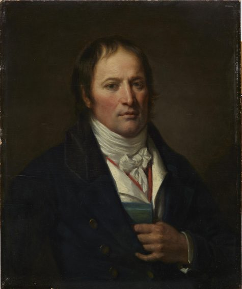 Jean-Baptiste Greuze, Portrait of Jean-Nicolas Billaud-Varenne, early 1790s, oil on panel, Dallas Museum of Art, anonymous gift, 1961.105