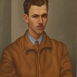 Jerry Bywaters, Self-Portrait, 1935, oil on Masonite, Dallas Museum of Art, gift of Mr. and Mrs. Duncan E. Boeckman in honor of Mrs. Eugene McDermott, 1990.5