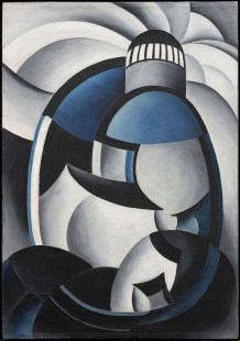 "Ida Ten Eyck O'Keeffe, ""Variation on a Lighthouse Theme II,"" c. 1931-32, oil on canvas, anonymous lender, 117.2017.01"