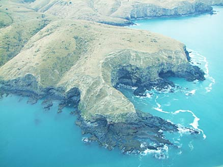 Banks Peninsula coastline