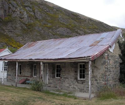 Hakatere Stone Cottage.