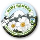 Aoraki/Mt Cook Kiwi Ranger badge