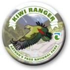 Arthur's Pass Kiwi Ranger badge.