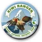 Mt Aspiring Kiwi Ranger badge.