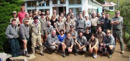 Coastal Otago DOC staff.