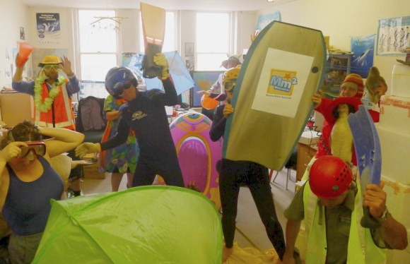 DOC Coastal Otago team do the Harlem Shake.