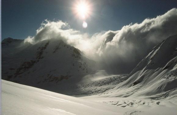 The Murchison Glacier.