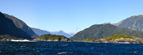 Some of the islands and special places in Doubtful Sound.