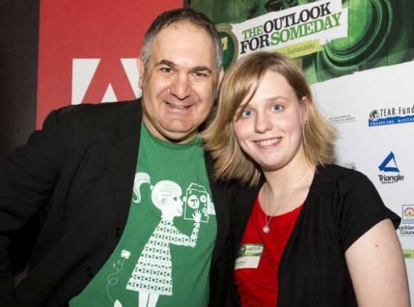 David and Natasha at last year's Someday Awards.
