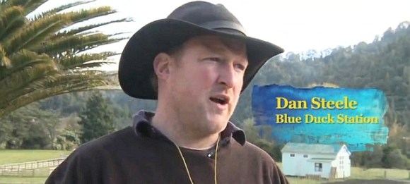 Farmer Dan Steel from Blue Duck Station.