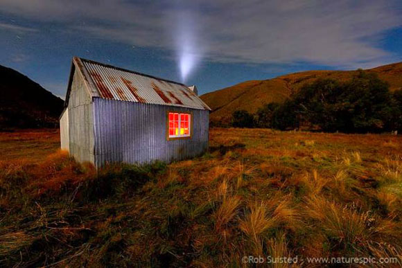 An early morning start at the Yarra Hut, with stars still in the sky.