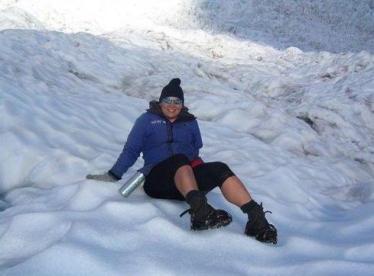 Heli-hiking on Franz Josef Glacier