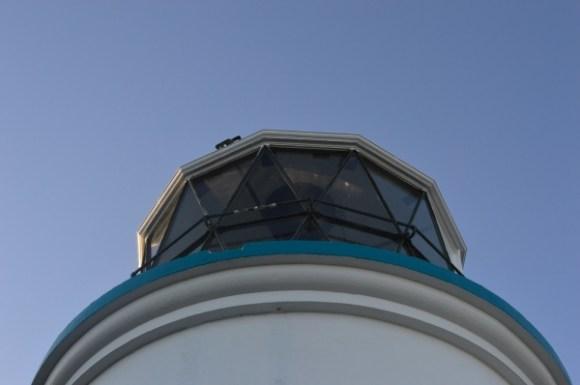 The lighthouse on Matiu/Somes Island.