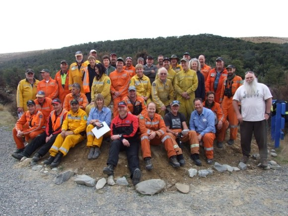 Organisers of the Rural Firefighter Challenge.