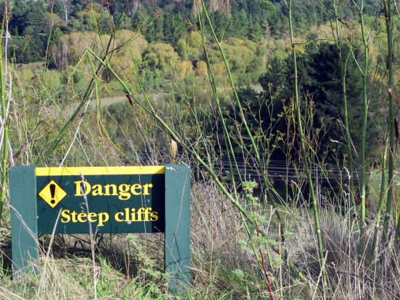 Steep cliffs. Photo: Ellen Fitzsimons.