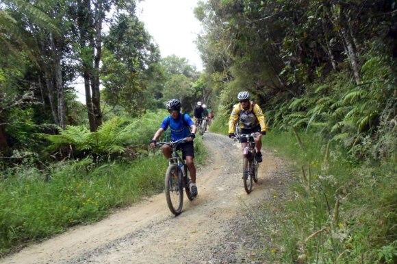 Riding the Mangapurua.