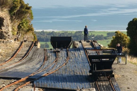 Denniston Mine heritage attraction.