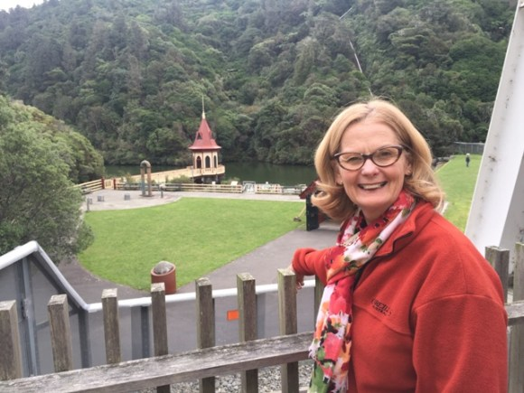CEO Hillary Beaton at Zealandia.