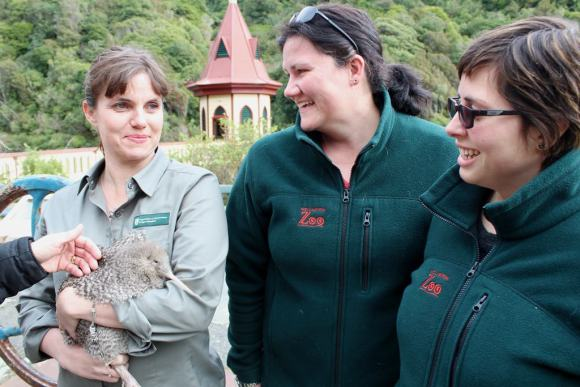 Nicola Toki - Threatened Species Ambassador. Photo: Wellington Zoo