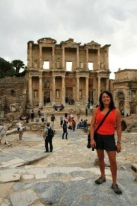 Pania Dalley at Ephesus.