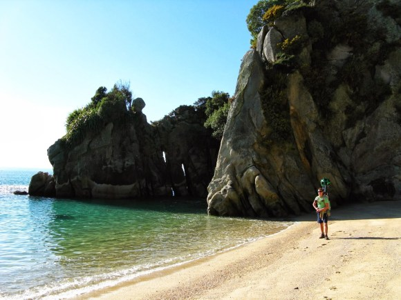 Abel Tasman Coast Track. Photo by Peter Hiemsta