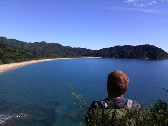 Overlooking Totoranui, Abel Tasman.