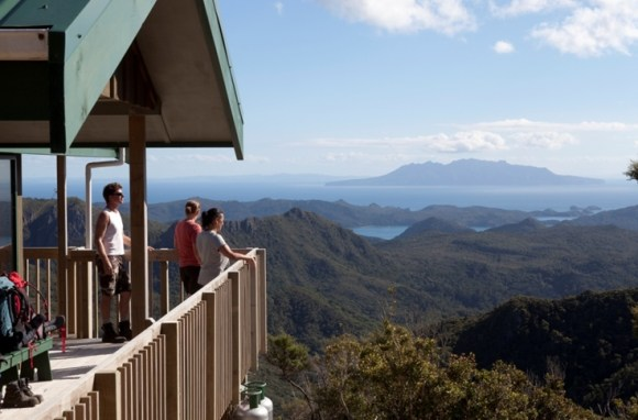 View from Mt Heale Hut. Photo: © Andris Apse.