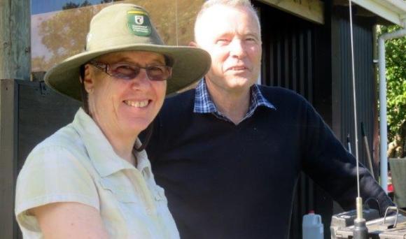 Christine and Barry Stephenson.