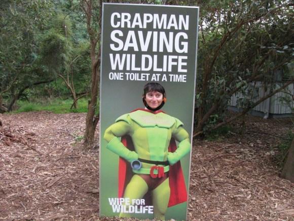 Melbourne 'wipe for wildlife' initiative.