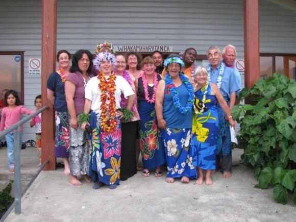 Te Reo Maori students.