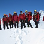 The DOC Mount Cook Search and Rescue Team.