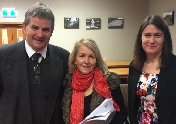 DOC Operations Director (Southern South Island) Allan Munn, Chair of Environment Southland Ali Timms, Director MCDEM Sarah Stuart-Black.