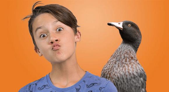 """""""Duckface selfie""""."""