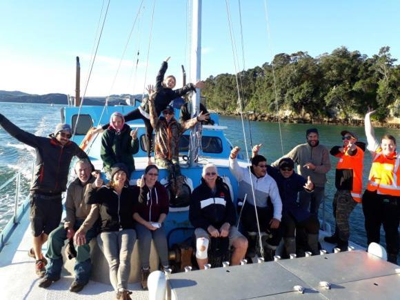 Volunteers on boat.jpg
