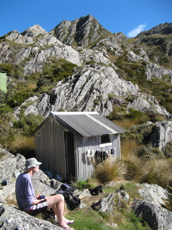 Adelaide Tarn Hut.