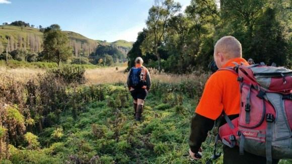 Rangers Ardy and Ian heading into Paengaroa May 2017. 📷: Becky O'Sullivan.