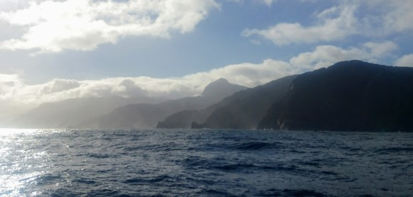 Fiordland coast.